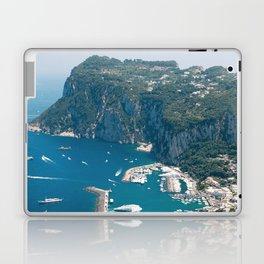 Italy, Capri Landscape View Laptop & iPad Skin