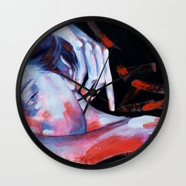 When there's no place for love Wall Clock