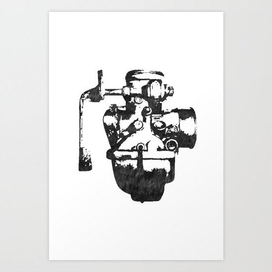 Lost carburetor #1 Art Print