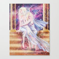 Fate : Universe Canvas Print