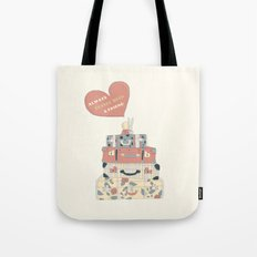 Always Travel With a Friend (Digital version) Tote Bag