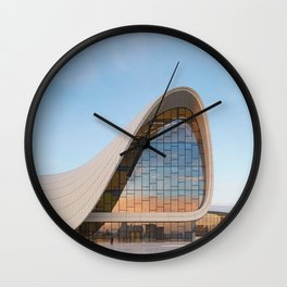 Zaha H A D I D | architect | Heydar Aliyev Center Wall Clock
