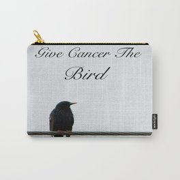 Give Cancer the Bird 2 Carry-All Pouch