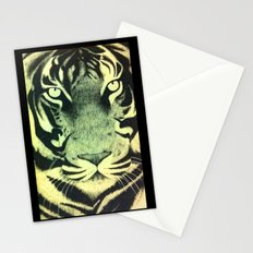 Be a Tiger (Yellow) Stationery Cards