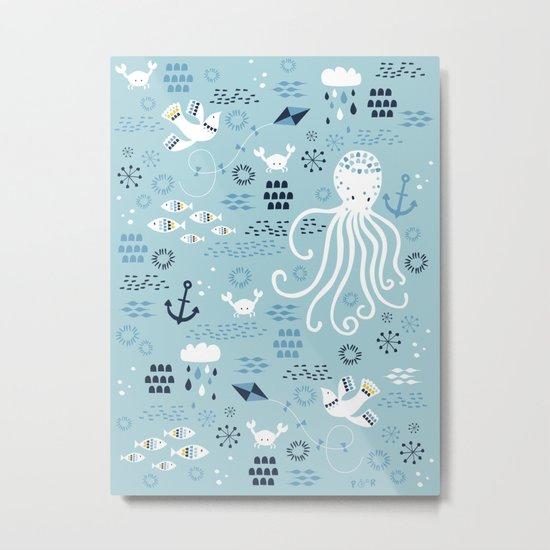 Sea Breeze Metal Print