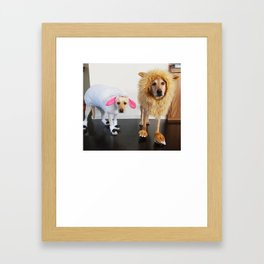zoey and lainey costumes Framed Art Print