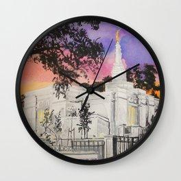 Melbourne Australia LDS Temple Wall Clock