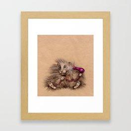 hairdresser Framed Art Print