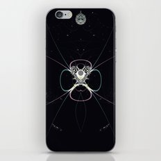 Flower in Space iPhone & iPod Skin