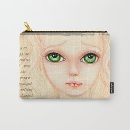 Lonely Girl Carry-All Pouch