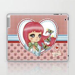 retro love Laptop & iPad Skin