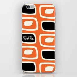 OrangeBlack Bombilla iPhone Skin