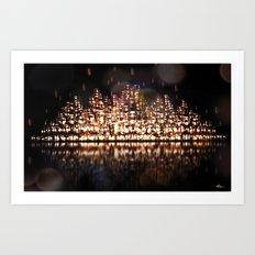 The City of Forgotten Lights Art Print