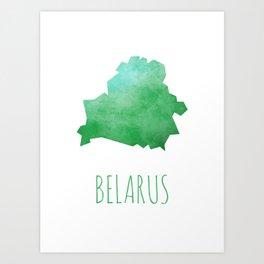 Belarus Art Print
