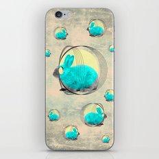 hypnotic rabbit iPhone & iPod Skin