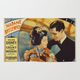 Madame Butterfly Movie Print Rug