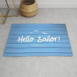 Hello Sailor Rug