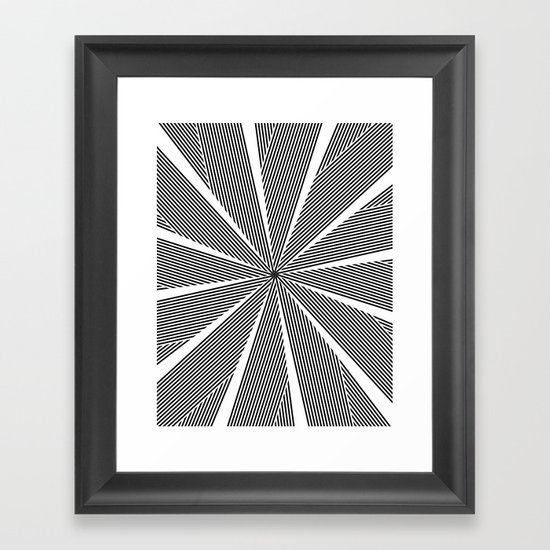 5050 No.9 Framed Art Print