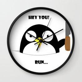 Hey_You_Run Wall Clock