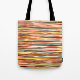 Colored Lines #1 Tote Bag