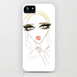 Air Kiss iPhone Case