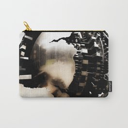 Vatican Sphere photography, Vatican Museum Travel to Italy, Abstract bronze sculpture travel photogr Carry-All Pouch