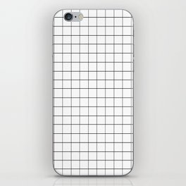 GRID - White Ver. iPhone Skin