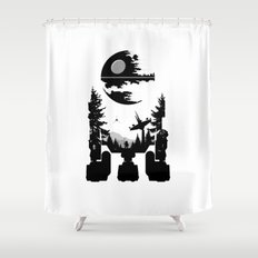 The Dark Side Shower Curtain
