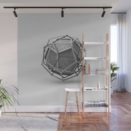 Dodecahedron Trine Wall Mural