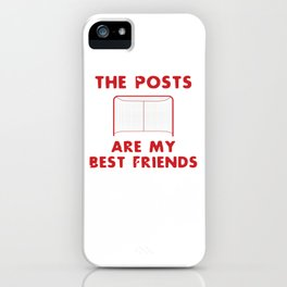The Posts are My Best Friends iPhone Case