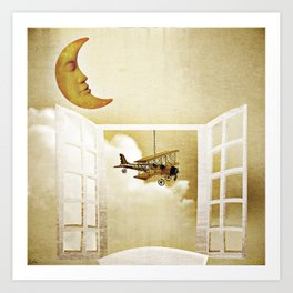 Window to Heaven Art Print