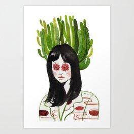 Green Mind  Art Print