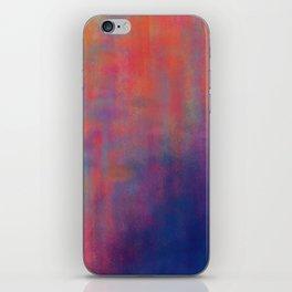 sunset pond iPhone Skin