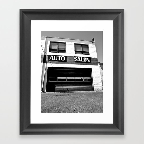 Auto Salon Framed Art Print