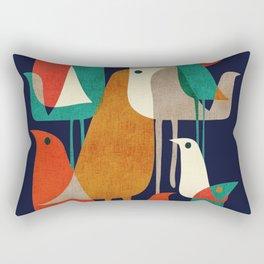 Penguin Bird Rectangular Pillow