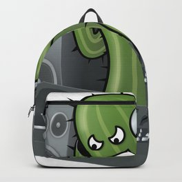 Funny DJ Cactus Backpack