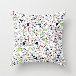 rocked Throw Pillow