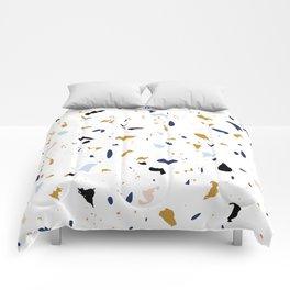 Seaside Terrazzo 1 Comforters