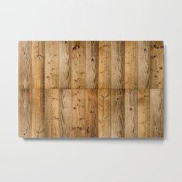 Wood 6 Metal Print