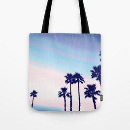 Tranquillity - violet sunset Tote Bag