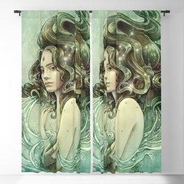 Zodiac Aquarius Blackout Curtain