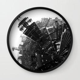 Around New York City 2 -  Geometric Wall Clock
