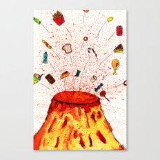 Desserts Erupt~~ Canvas Print