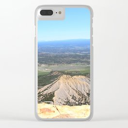 View from the top of Mesa Verde Clear iPhone Case