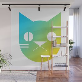 Icon Cat Wall Mural