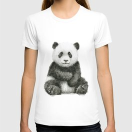 Panda Baby Watercolor T-shirt