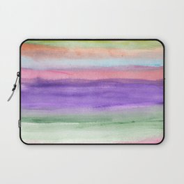 painted abstract Laptop Sleeve