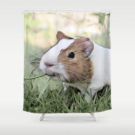 Impressive Animal - Guinea pig Shower Curtain