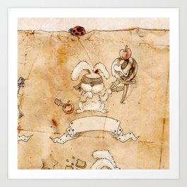 HEAD HUNTING- II Art Print