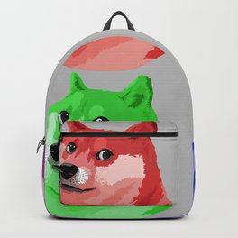 Doge in every color Backpack